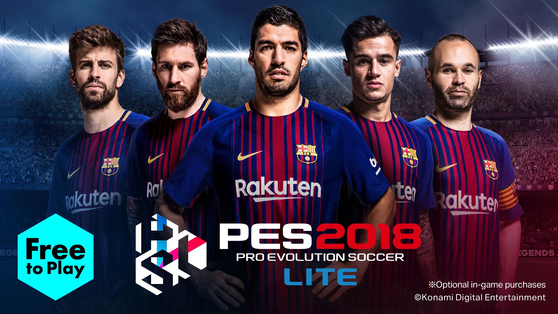 دانلود بازی PES 2018 برای PC