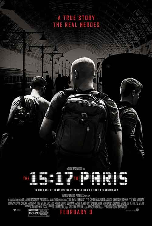 دانلود فیلم The 15:17 to Paris 2018