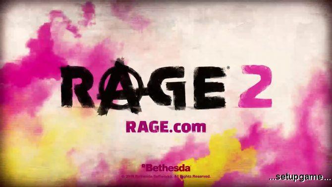 پلتفرمهای مقصد بازی Rage 2 مشخص شد