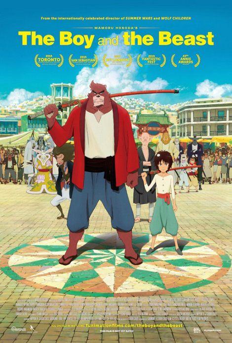 دانلود دوبله فارسی انیمیشن پسر بچه و هیولا The Boy and the Beast 2015