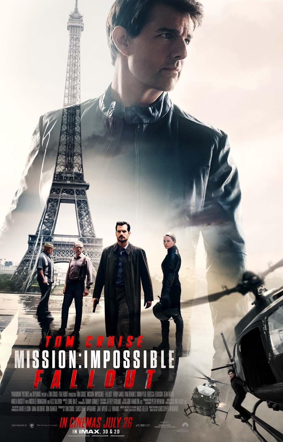 دانلود فیلم Mission: Impossible – Fallout 2018