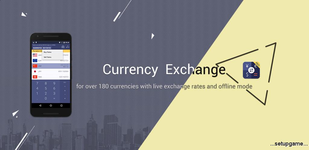دانلود Currency Exchange NoAd 1.23 - برنامه تبدیل نرخ ارز اندروید !
