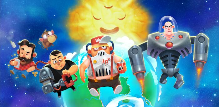 دانلود Human Evolution Clicker Game: Rise of Mankind - بازی دوست داشتنی تکامل بشر برای اندروید