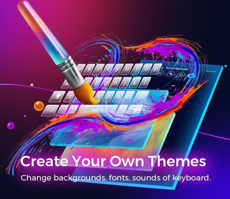 دانلود Cheetah Keyboard 4.5.2 - صفحه کلید سریع و زیبای چیتا برای اندروید