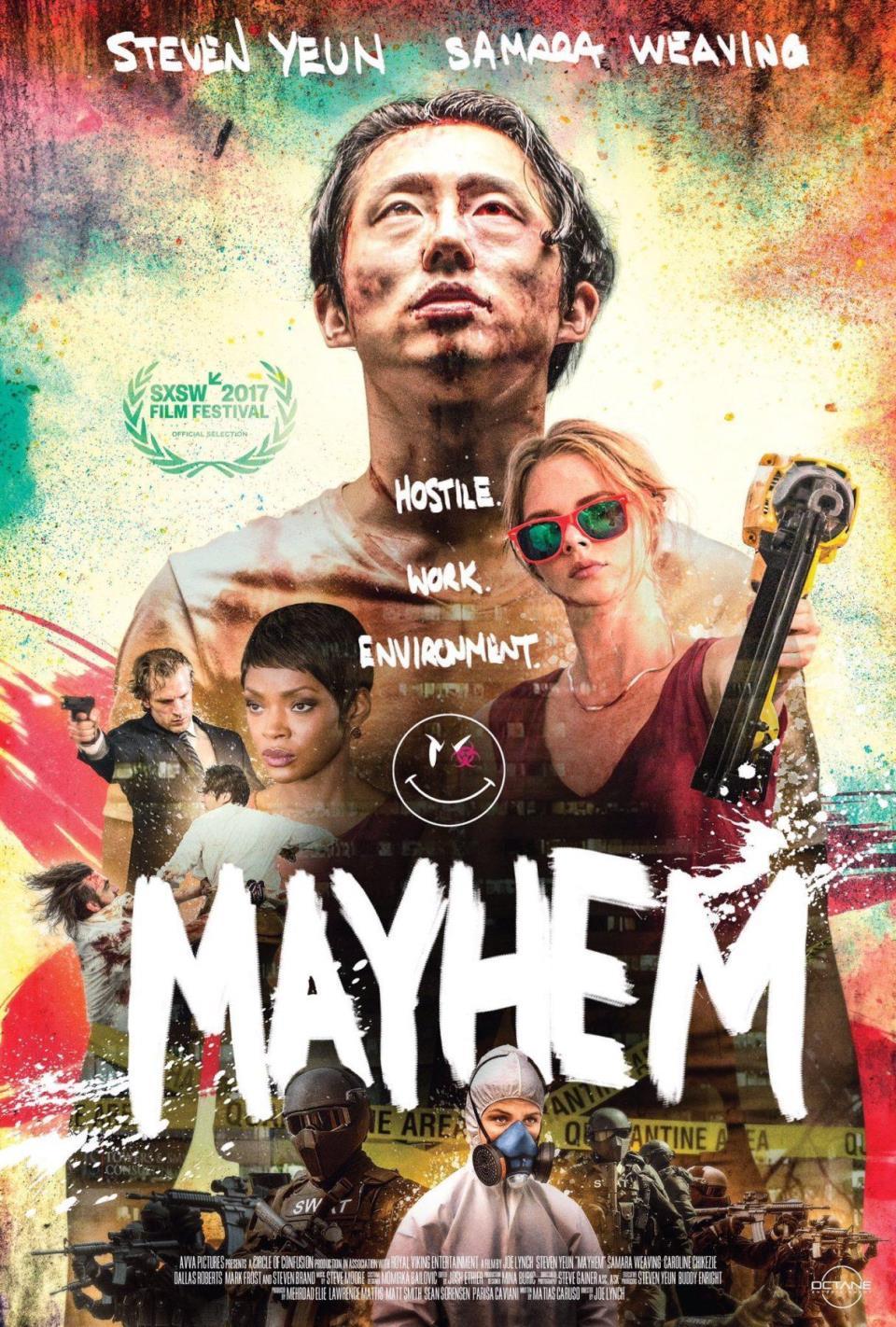 Mayhem%202017.1 1 دانلود فیلم Mayhem 2017
