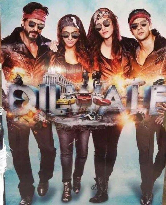 موزیک ویدیو های فیلم Dilwale 2015