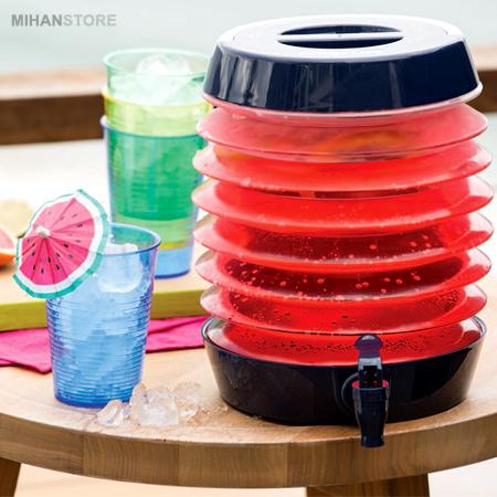 فروش کلمن تاشو - ظرف کوچک نگهدارنده مایعات با حمل آسان