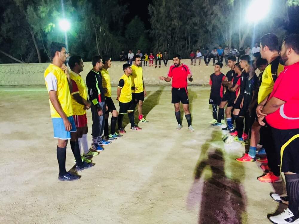 برگزاری مسابقات جام رمضان سال 97 شب دوم