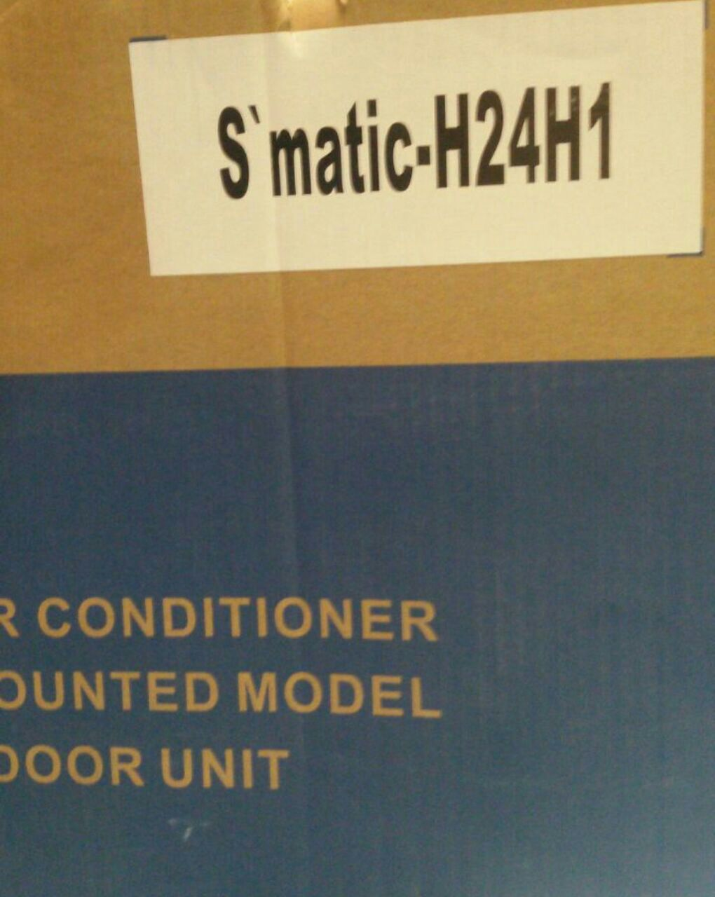اسپیلت کولر گازی گری gree مدل اسماتیک S matic-h24h1ظرفیت 24 هزار