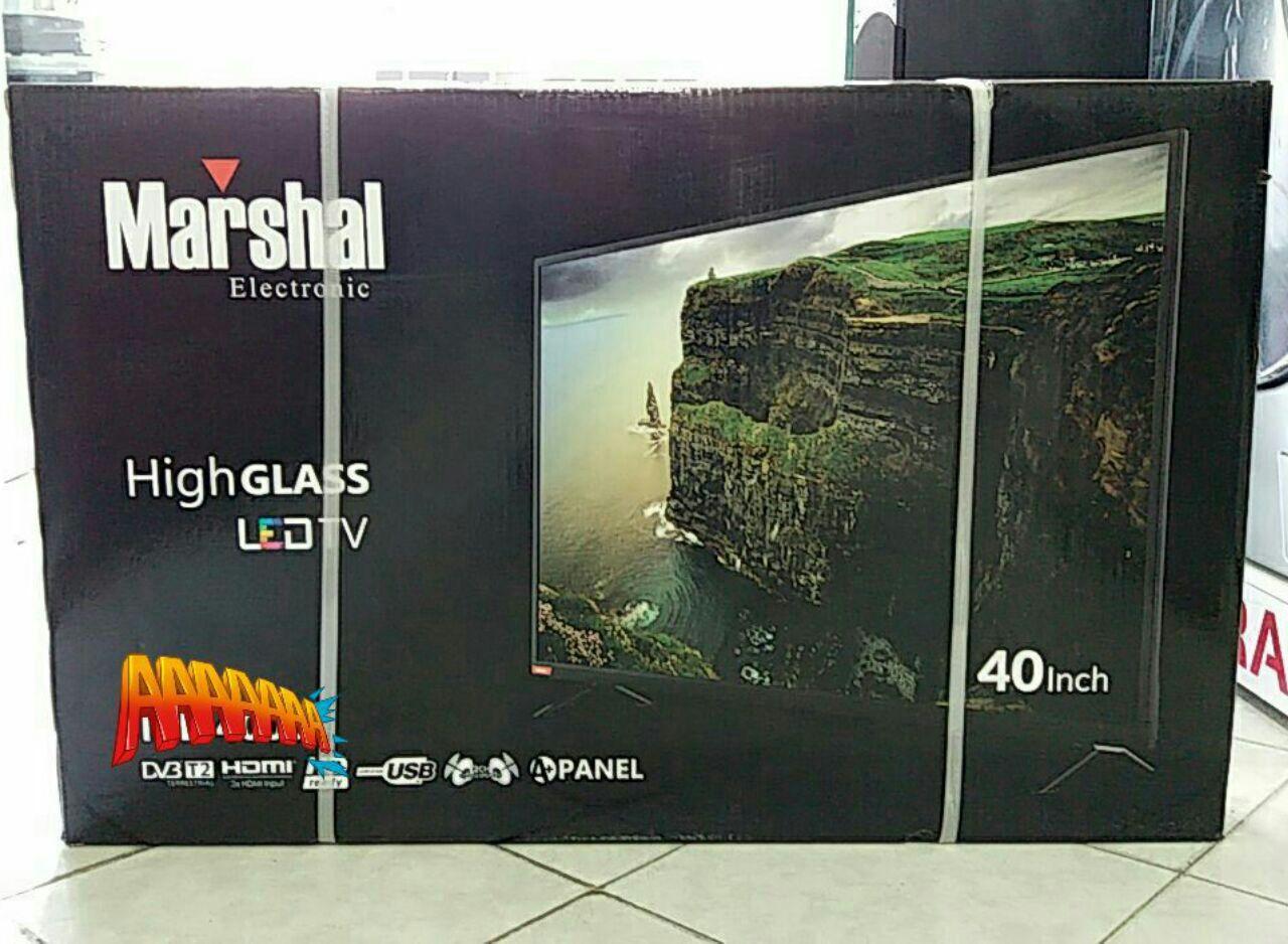 تلویزیون ال ای دی ۴0 اینچ مارشال مدل ME-4010 با پنل LG فول اچ دی