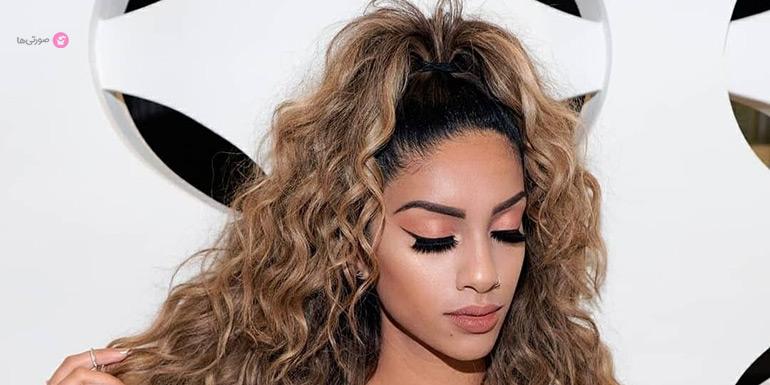 مدل موی ساده برای مهمانی