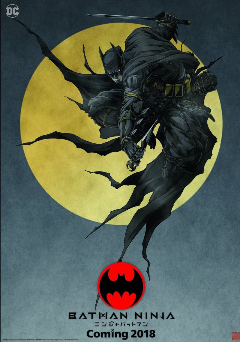 انیمیشن بتمن نینجا Batman Ninja 2018 دوبله فارسی