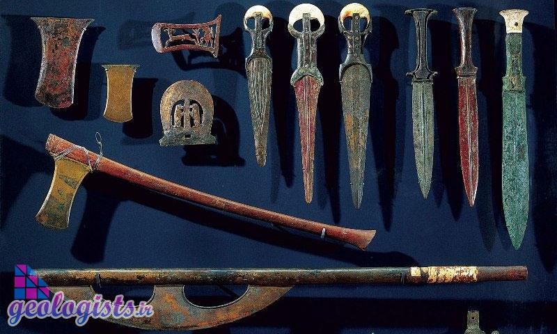 تاريخچه استفاده از فلزات در ايران