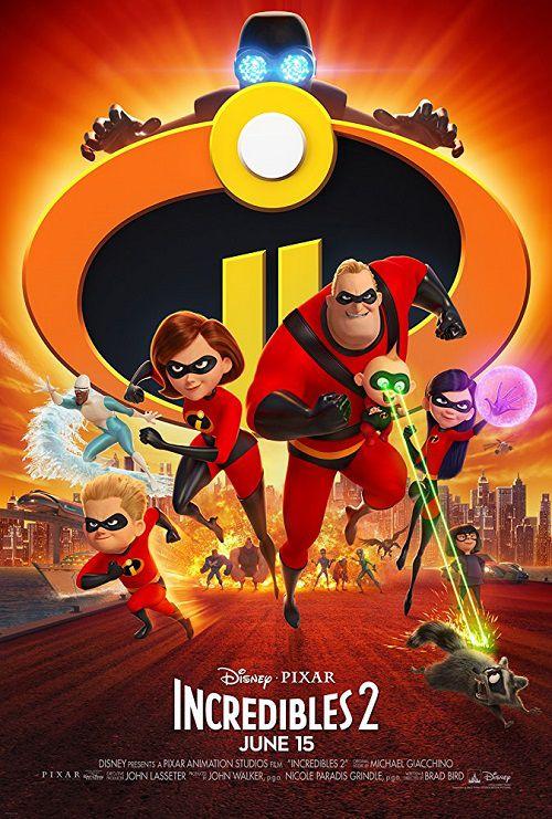 دانلود انیمیشن شگفت انگیزان 2 Incredibles 2 2018