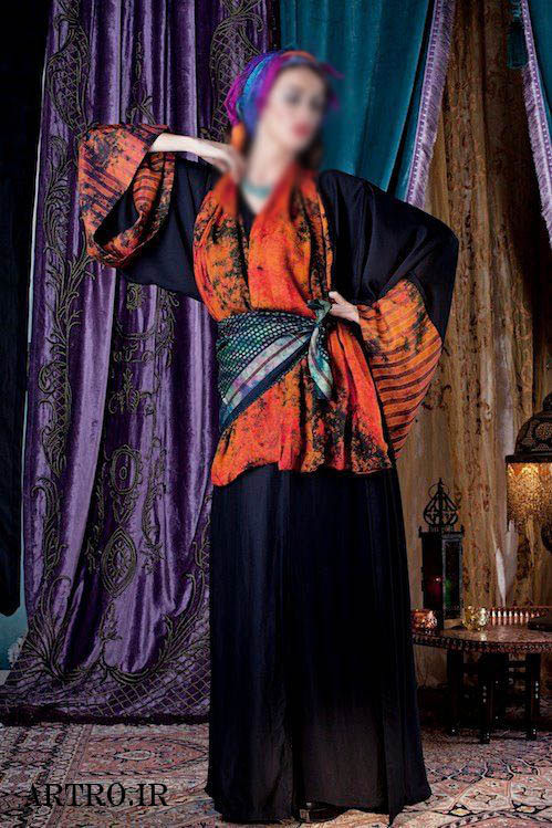 مدل مانتو عبا مجلسی 2018