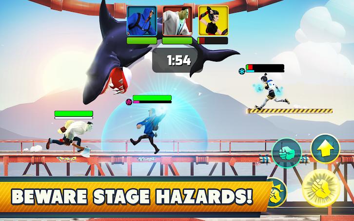 دانلود Mayhem Combat - Fighting Game 1.5.5 - بازی مبارزه با ضرب وشتم اندروید و آی او اس + دیتا