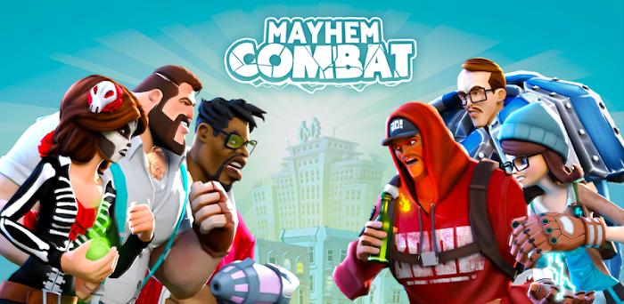 دانلود Mayhem Combat - Fighting Game - بازی اکشن مبارزه با ضرب وشتم برای اندروید و آی او اس + دیتا
