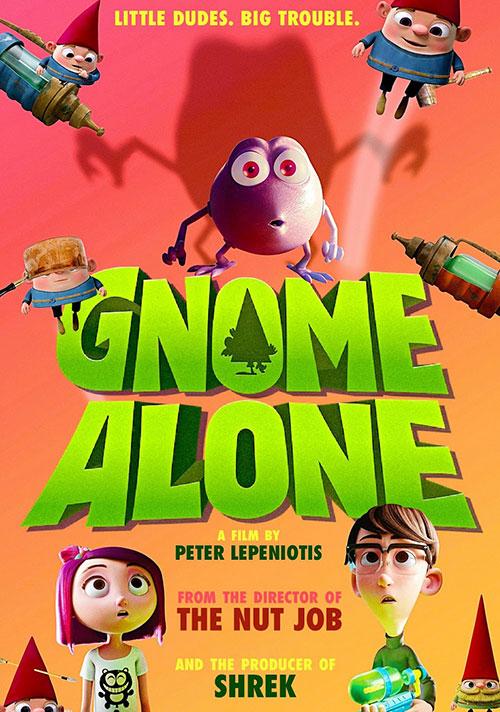 دانلود فیلم Gnome Alone 2017 با زیرنویس فارسی