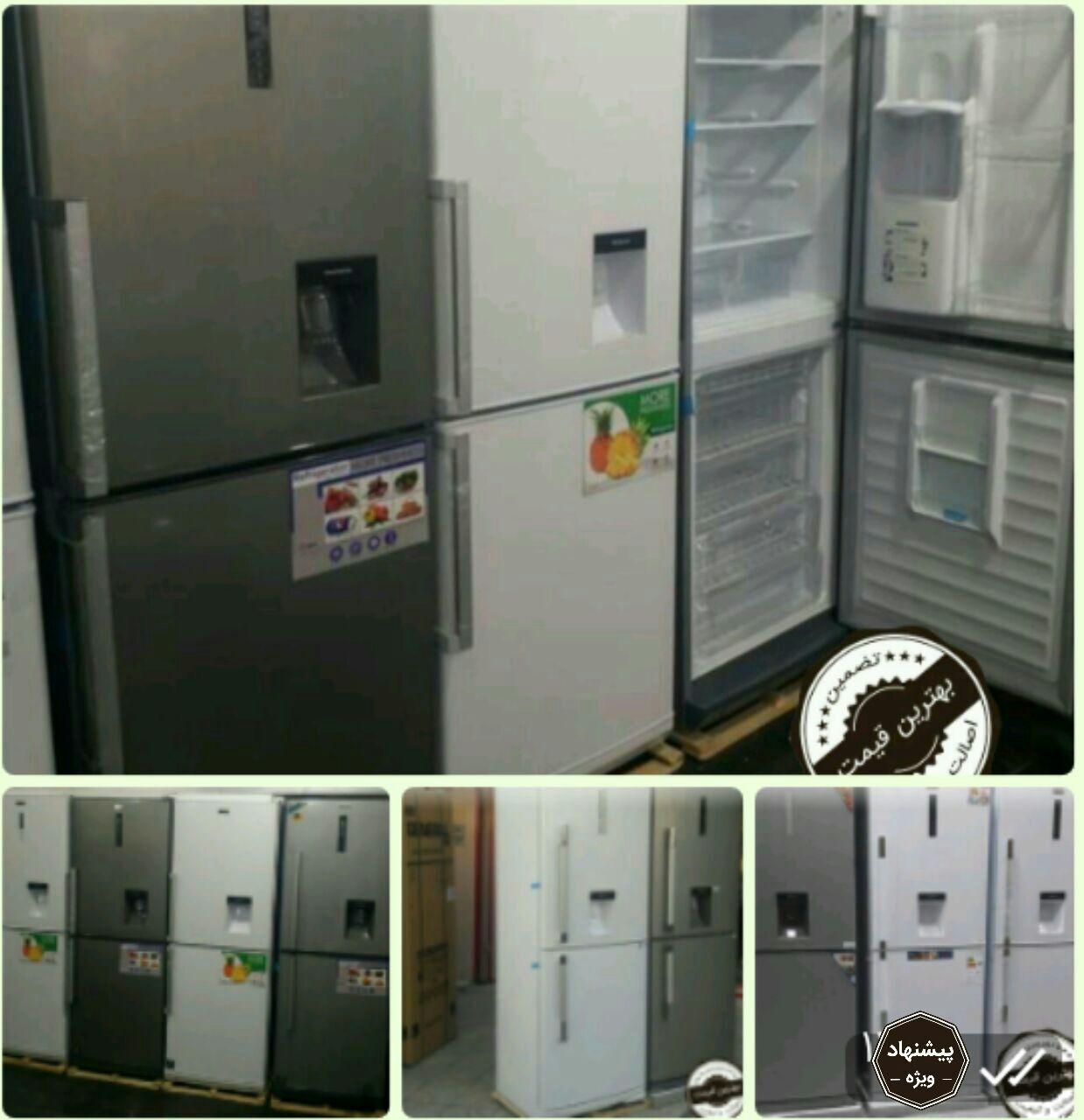 یخچال فریزر جنرال 22 فوت بدون برفک کمپرسور کم مصرف با نمایشگر