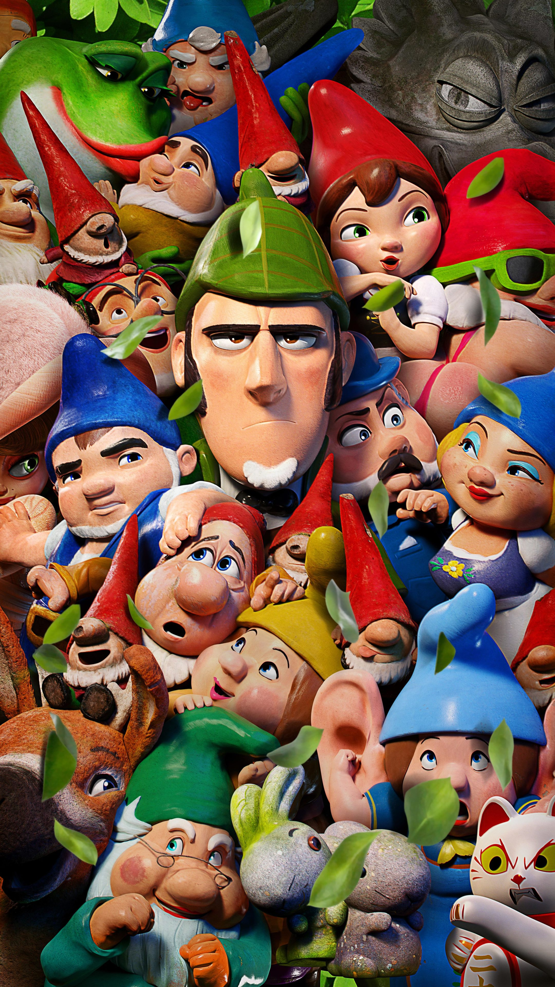 انیمیشن شرلوک گنومز Sherlock Gnomes 2018
