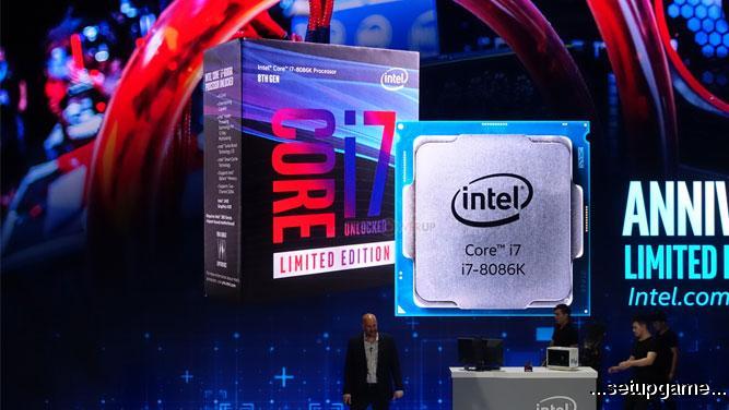 اینتل Core i7-8086K را معرفی کرد؛ سریعترین پردازنده دنیا تا به امروز!