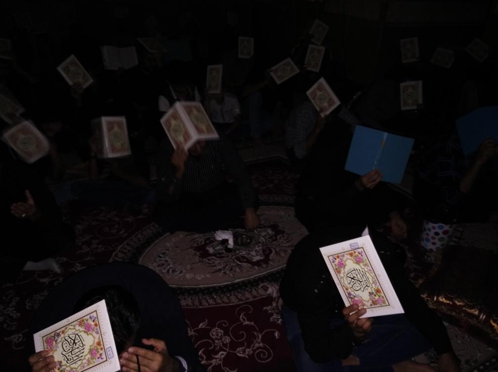 برگزاری مراسم احیاء شب قدر در روستای پاقلات