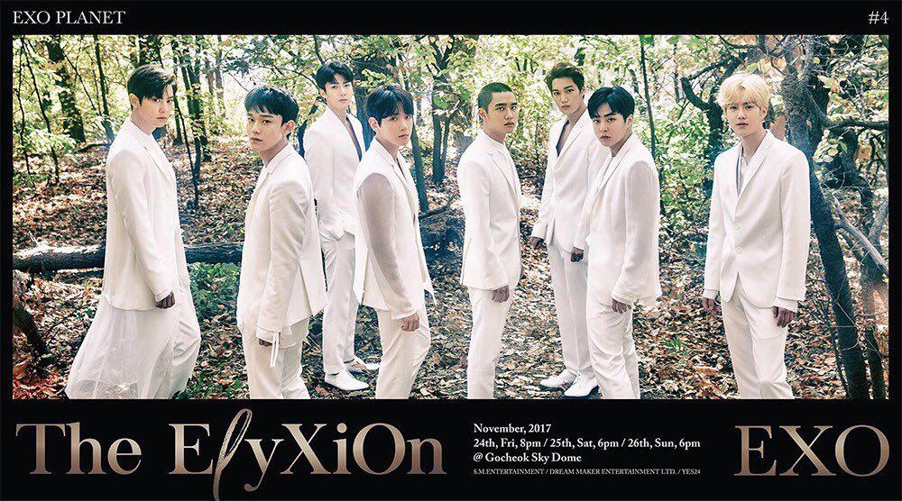 : اکسو تاریخ کنسرت های The ElyXiOn [dot] در سئول رو اعلام کردند 💫♥️   ادامه خبر 👇🏻 @