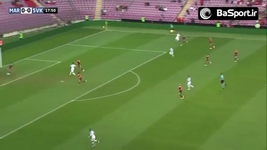خلاصه بازی مراکش 2-1 اسلواکی