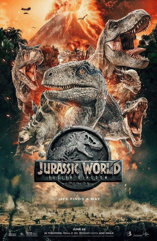 دانلود فیلم Jurassic World: Fallen Kingdom 2018