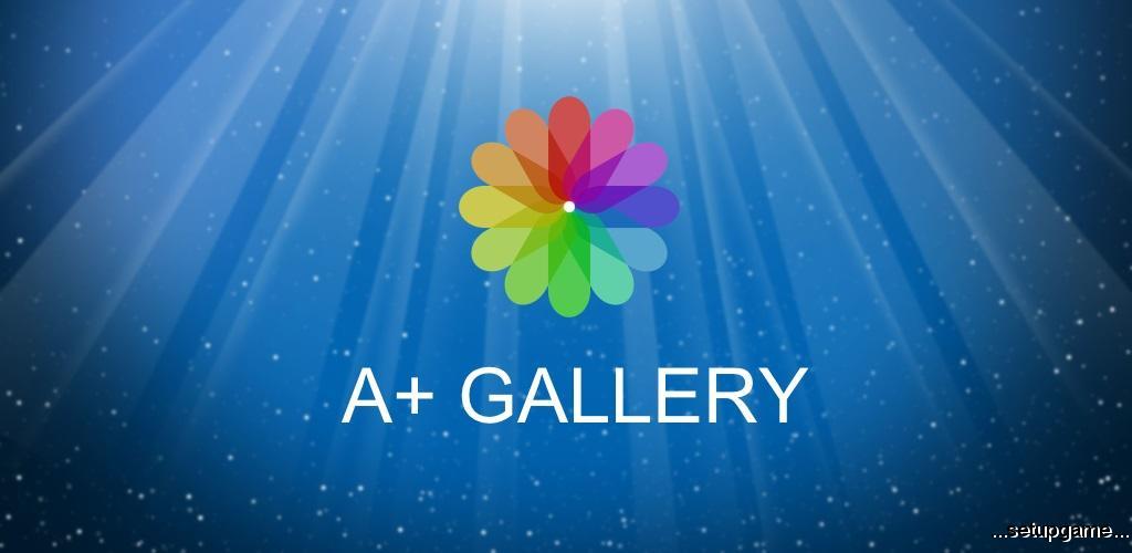دانلود A+ Gallery Photos & Videos Full 2.2.15.0 - بهترین برنامه گالری اندروید !
