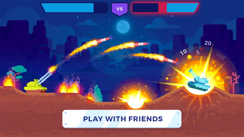دانلود Tank Stars 1.3 - بازی هیجان انگیز تانک ستاره برای اندروید و آی او اس + مود