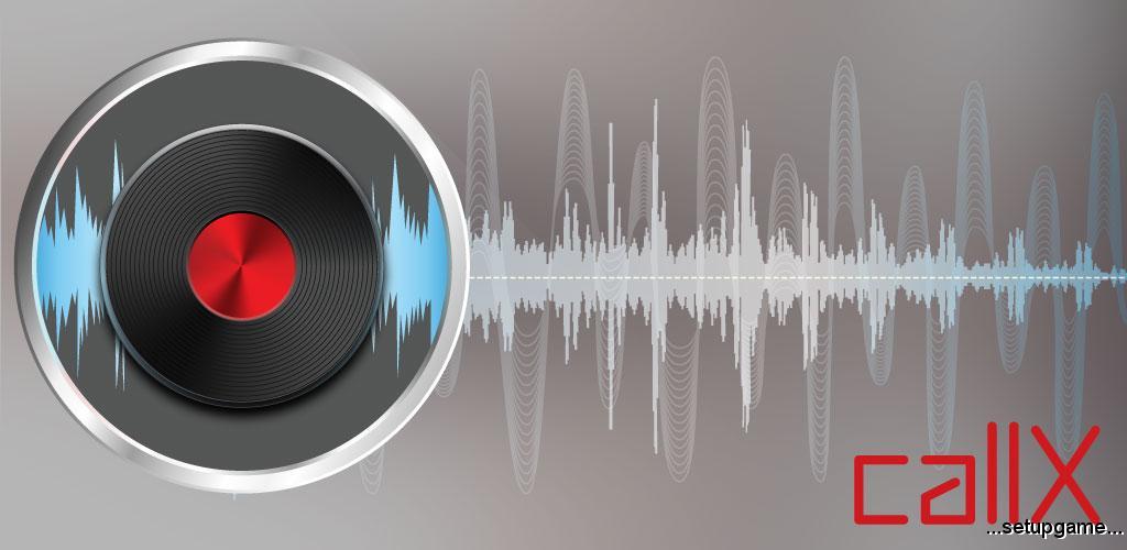 دانلود Automatic Call Recorder callX 6.3 - برنامه گرافیکی و پر امکانات ضبط مکالمات اندروید