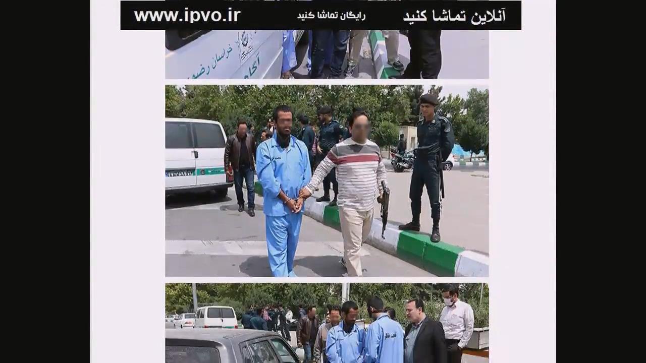 بازسازی صحنه تیراندازی میدان جمهوری مشهد