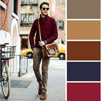 مدل های لباس ترکیب رنگ و ست مناسب و ایده آل برای آقایان