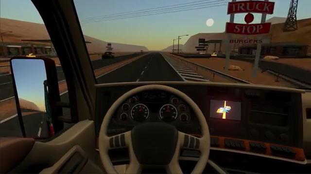 بازی شبیه سازی رانندگی کامیون در امریکا برای اندروید نسخه Truck Simulator USA v2.2.0