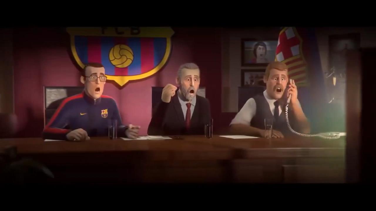 انیمیشن ساخته شده برای مسی