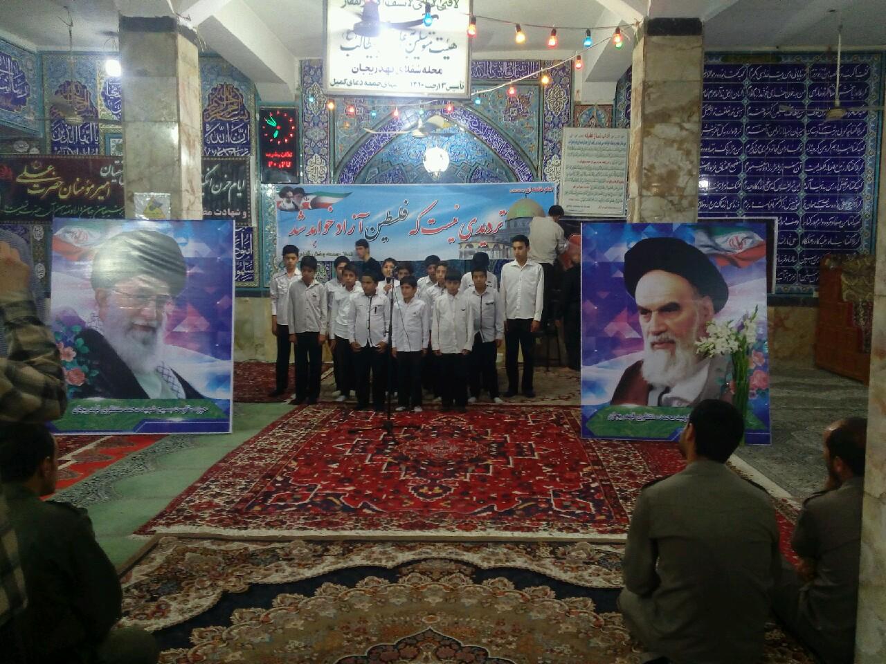 مراسم ارتحال حضرت امام در مسجد بزرگ