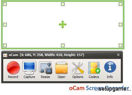 دانلود oCam Screen Recorder Pro v451.0 - نرم افزار تهیه عکس و فیلم از دسکتاپ و بازی