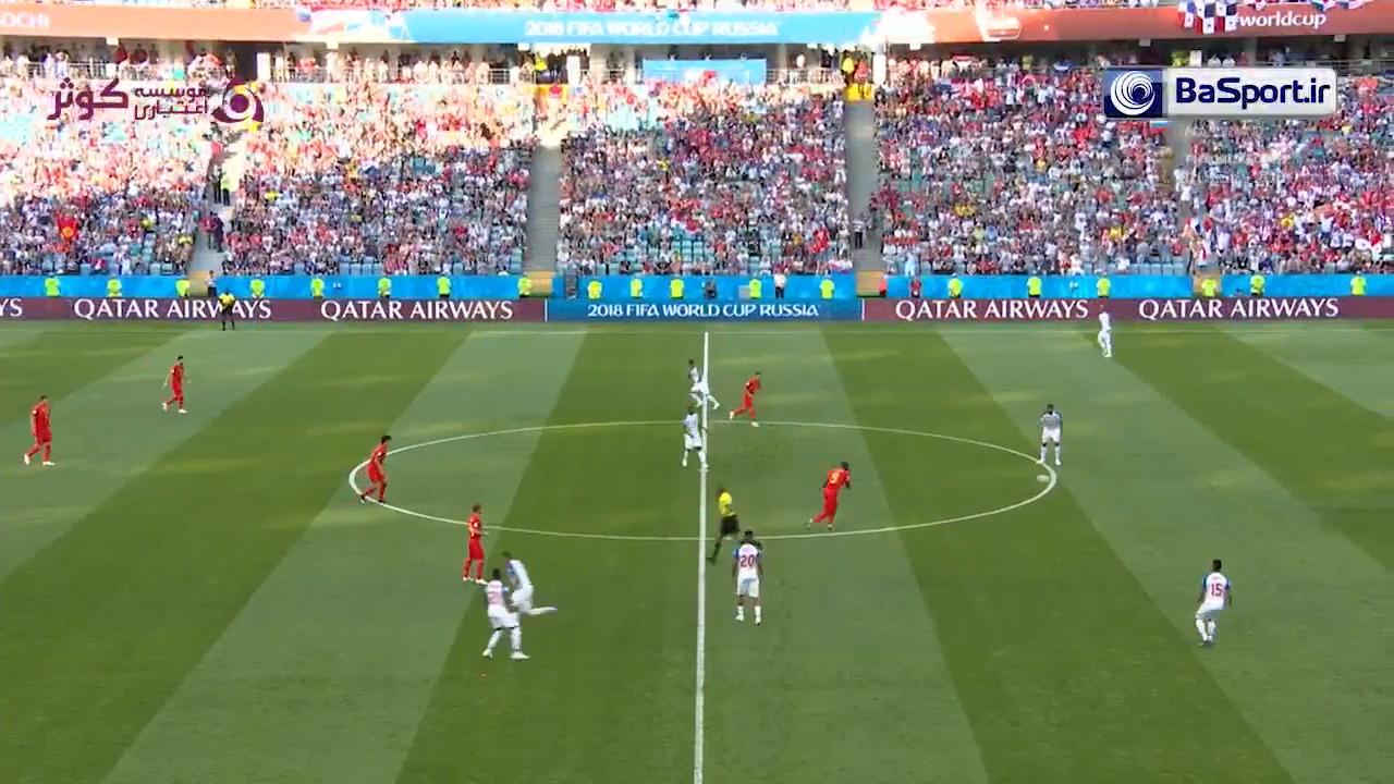 خلاصه بازی بلژیک 3-0 پاناما