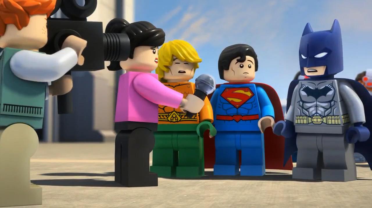 تماشای آنلاین LEGO Aquaman Rage Of Atlantis 2018