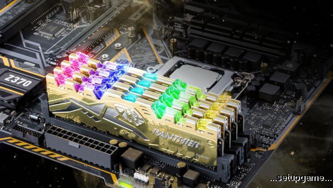 Apacer از حافظه های Panther Rage DDR4 RGB رونمایی کرد؛ زیباتر و پایدارتر از همیشه
