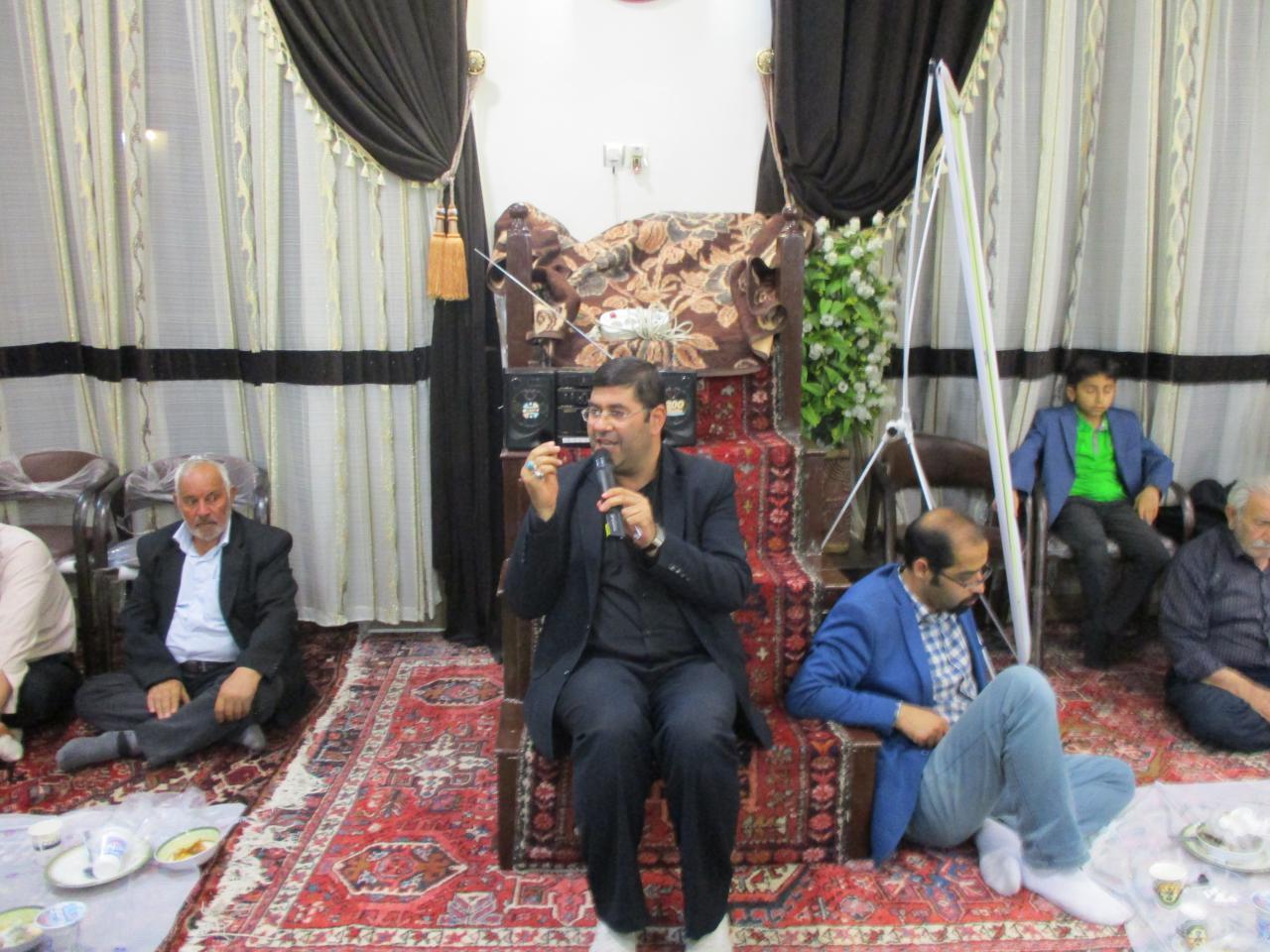 سخنان شنیدنی جناب اقای اسماعیل شیری رئیس هیئات حسینی شهرستان مراغه و مشاور حقوقی جامعه معلولین