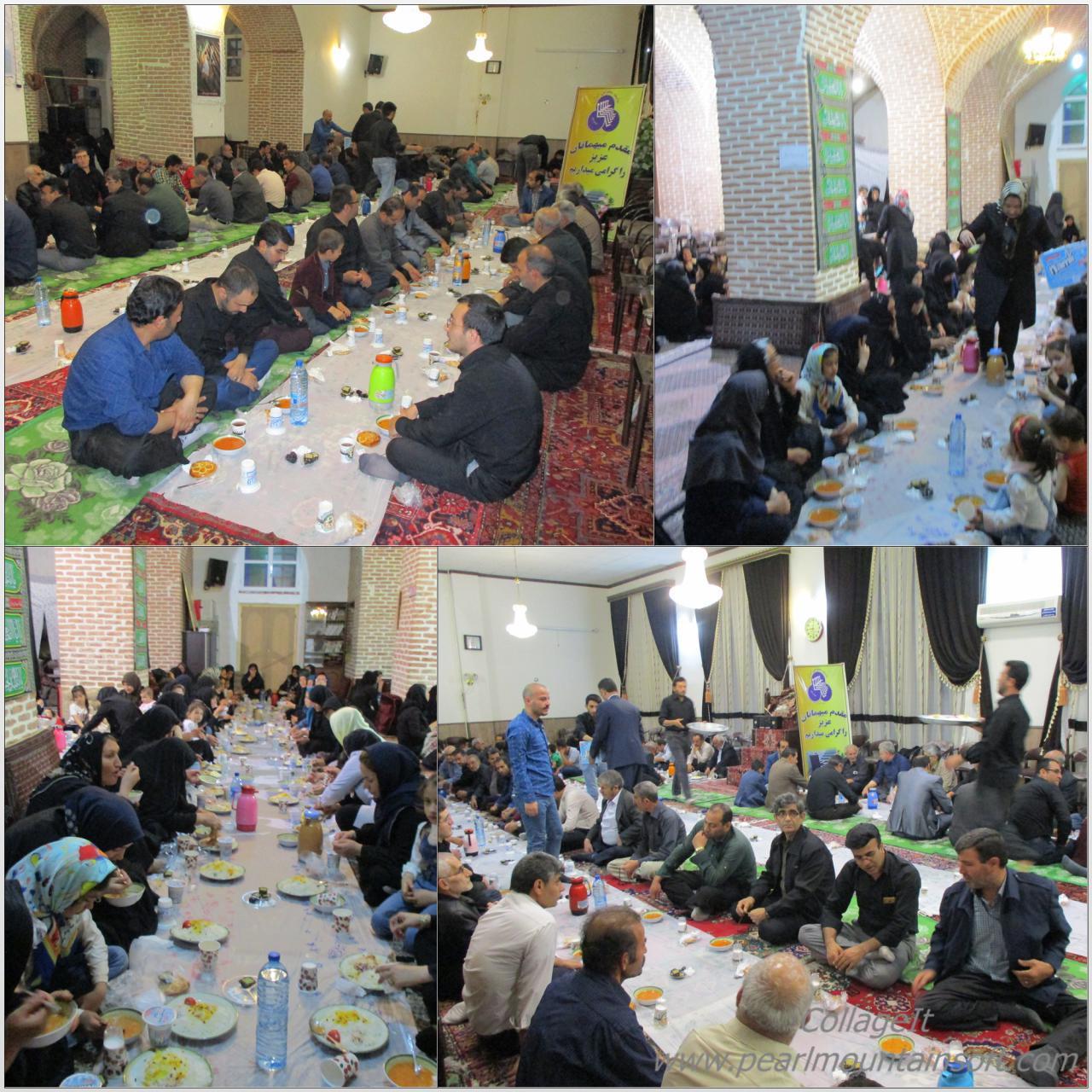 اکرام و افطاری جامعه معلولین در 16خرداد 1397مصادف با 21رومضان وسالروزشهادت حضرت علی (ع)