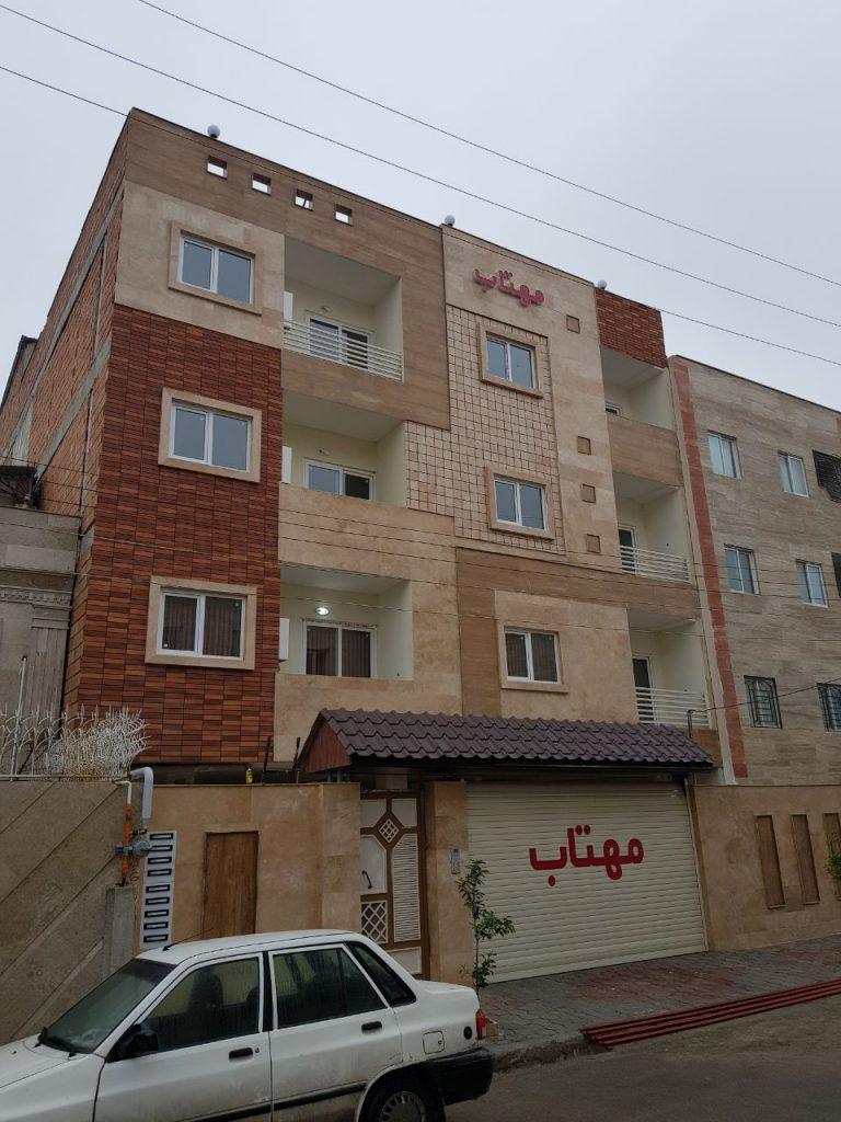 آپارتمان مبله در گرگان کد ۷۷۳۶