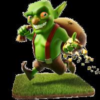 دیو(goblin),دیو در کلش در کلش آف کلنز,آشنایی با کلش آف کلنز,آشنایی کامل با کلش آف کلنز,آشنایی با گوبلین در کلش آف کنز,آشنایی با سرباز های کلش آف کلنز,تمامی سربازان کلش آف کلنز,بست کلش