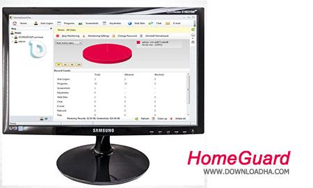دانلود HomeGuard Professional 5.1.1 – کنترل کاربران شبکه خانگی