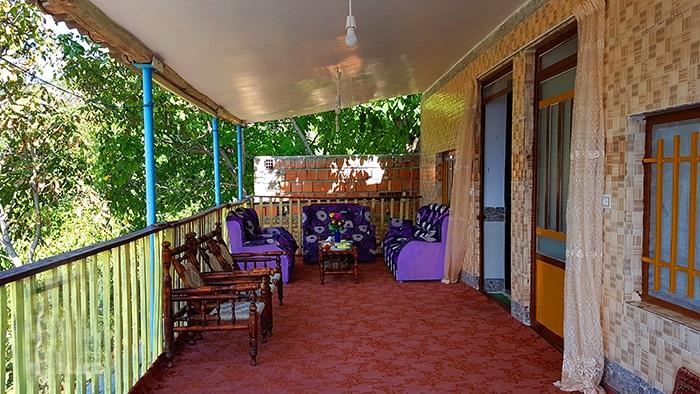 اجاره روزانه ویلای دو خوابه در علی آباد گرگان کد ۷۷۱۶