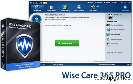 دانلود Wise Care 365 Pro v4.89 Build 471 - نرم افزار بهینه سازی ویندوز