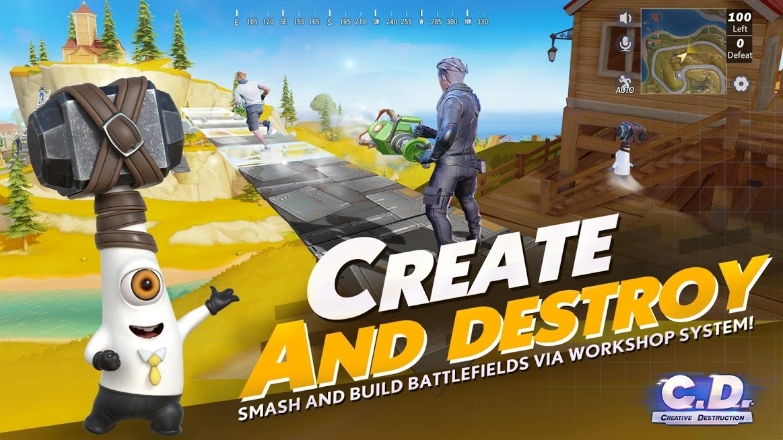 دانلود Creative Destruction 1.0.14 - بازی تخریب خلاقانه برای اندروید + دیتا
