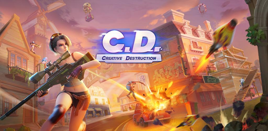 دانلود Creative Destruction - بازی تخریب خلاقانه برای اندروید و آی او اس + دیتا